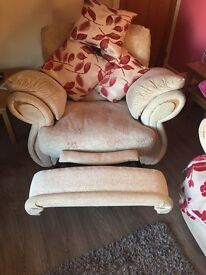 2 x Reclining Arm Chairs