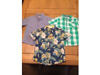 Set of 3 smart shirts ages 3-4 years