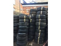 Partworn tyres for sale (all sizes available)