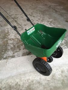 Scott's fertilizer spreader