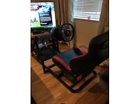 Gaming race chair x box one / pc / PS4