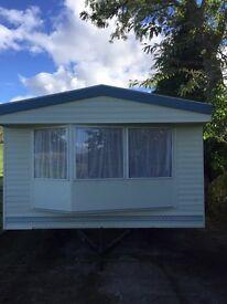 Static caravan to rent in a beautiful rural location