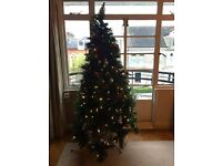 Christmas Tree with 200 Led lights (7ft)