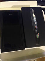 Black iPhone 5 16gb, Locked to Bell