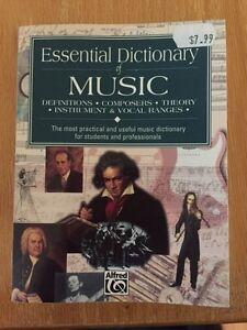 Essentials Music Dictionary