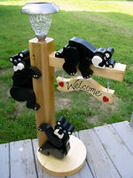 Bears With Solar Lights