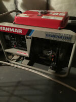 YANMAR AIR COOLED DIESEL GENERATOR!!!