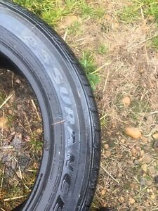 Goodyear Winter Tires P235 55 R18 - 2 Tires Strathcona County Edmonton Area image 2