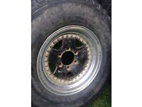 Mitsubishi shogun/ Pajero/ l200 alloy wheels and tyres. Off road wheels