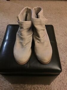 Fergie Monet leather slouch booties