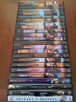 Ultimate 23 James Bond DVD Movie Collection plus a bonus one.
