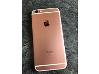 iPhone 6s 64gb rose gold unlocked with warranty