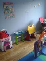 Places disponibles - Garderie en milieu familial à Saint-Léonard