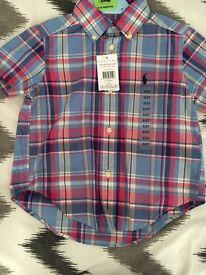 Ralph Lauren Boys Shirt Age 2 BNWT