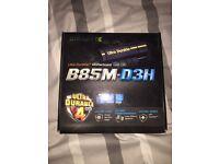 B85M-D3H motherboard LGA 1150