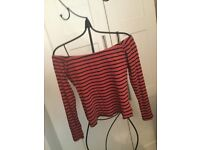 Off the shoulder top - Size 14