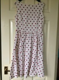 Lindy Bop dress and petticoat, size 10