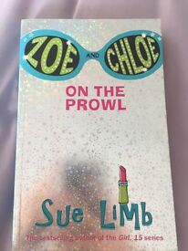 sue limb, teenage reading book- zoe and chloe, on the prowl