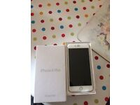 Silver iPhone 6plus 128G