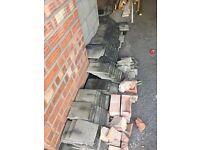 Job lot low level concrete roof tiles FREE