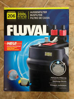 NEW Fluval 206 Canister Filter for Aquarium/Fish Tank