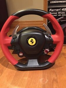 Thrustmaster Racing Wheel Ferrari 458 spider edition West Island Greater Montréal image 3