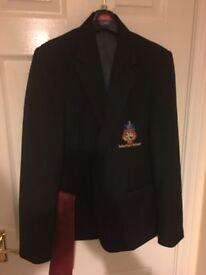 New John port blazer and tie boys size 32