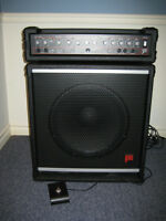 "Traynor/Yorkville BLOC 250 Bass Amp & 15"" Matching Speaker"