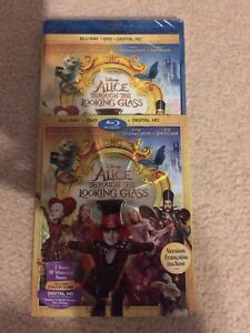Alice though the looking glass ( blu ray )