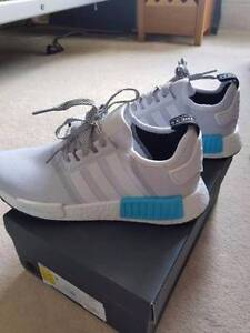 Adidas NMD R1 white cyan SWAP OR SELL Rockdale Rockdale Area Preview