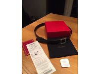 Men's Cartier Santos Interlocking Cow side Reversible Belt With Receipt. No Time Wasters Please!