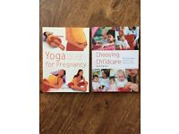 Yoga for Pregancy and Choosing Childcare books