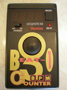 BPM Counter Vestax Stanton Beat-1