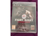 Fight Night Champion PS3 game (NEW)