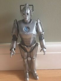 Large 13'' Dr. Who Cyborg Figure