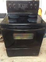 Frigidaire oven ceramic top, and whirlpool dishwasher.