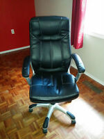 Leather Reclining Office Chair
