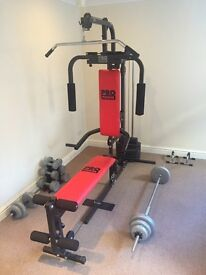4 way Multi Gym + extras - can deliver