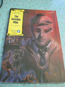 The Invisible Man-Illustrated Classics-Book,  Graphic Paperback