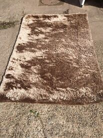 Want to sell by 23rd Oct. REDUCED Next Mink rug