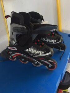 Size 4-7 rollerblades
