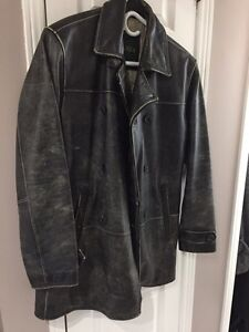 Danier 3/4 men leather jacket