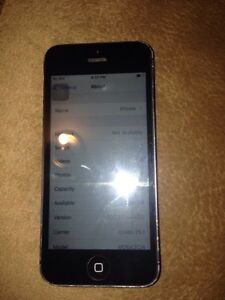 IPHONE 5....64gig one case and charger