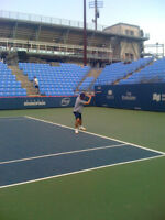 Tennis hitting lessons -Montreal