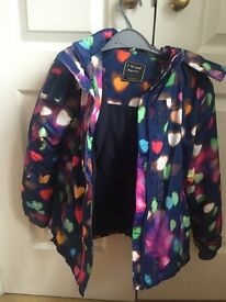 Girls Next coat age 7-8 excellent condition
