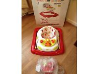 * Red Kite Baby Walker - Like New with Box *