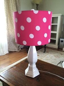 Girls bedside lamp.