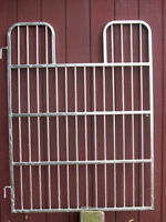 "New Horse Stall Swing In Gates  60"" high  46"" to 51"" w"