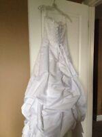 Custom wedding dress new never worn