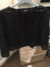 Sequins jacket from next size 16